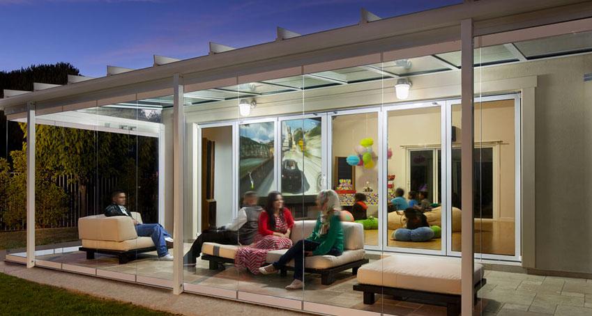 Lembo infissi realizza verande e giardino d inverno per - Verande giardino d inverno ...