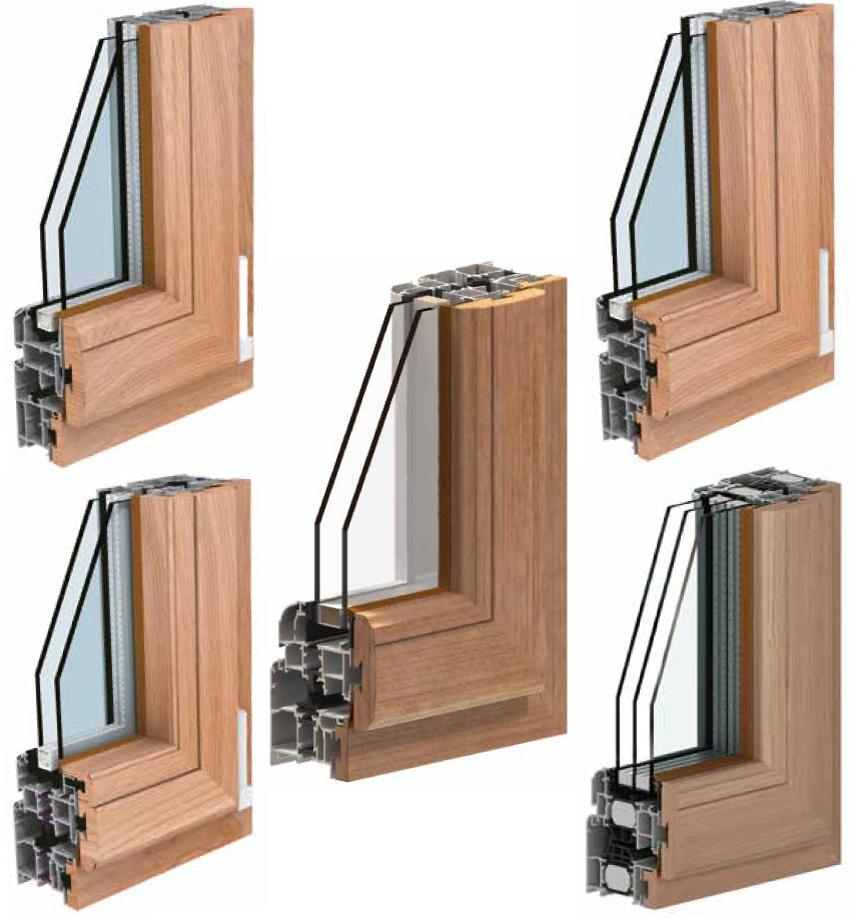 Personalizzare gli infissi in alluminio legno